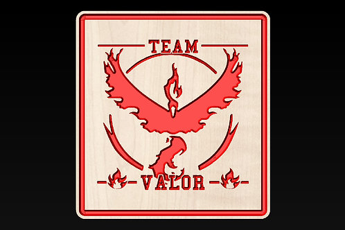 Pokemon Go - Team Valor (Red Team)