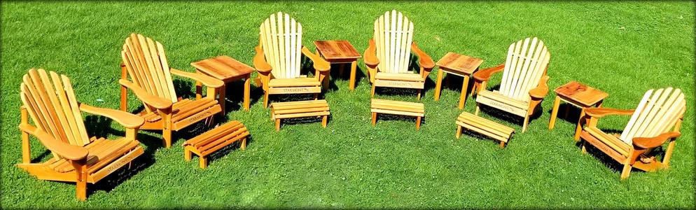 Adirondack Chair Set