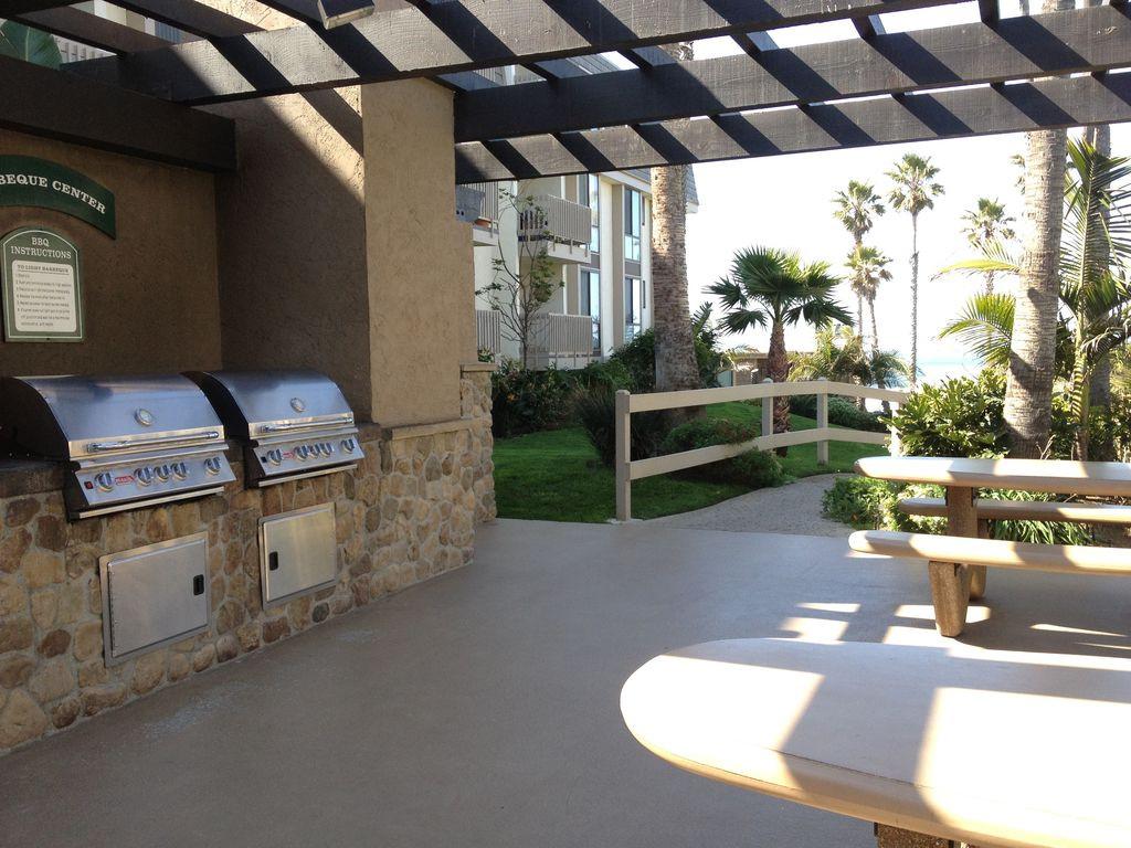 Main Complex BBQ Deck
