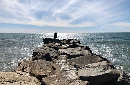 Oceanside Harbor Jetty