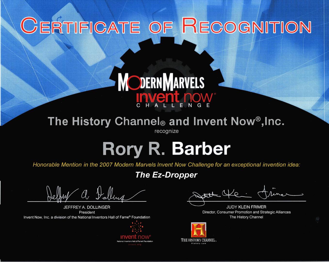 Modern Marvels Certificate.jpg