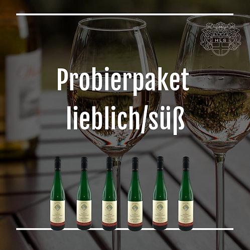 Weinpaket lieblich/süß