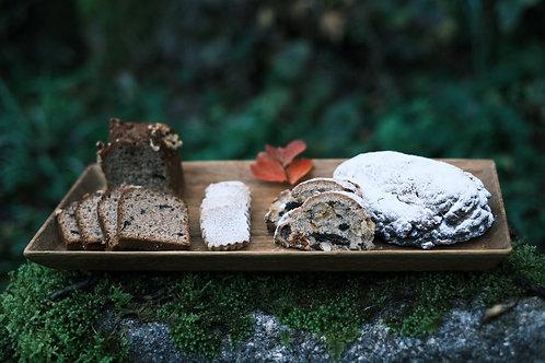 12月のスペルト小麦のお菓子箱