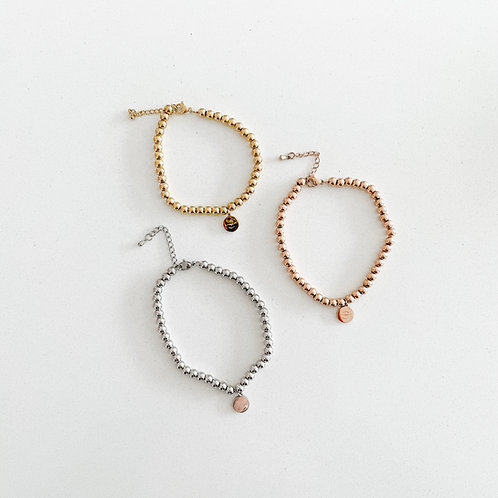 love me beaded bracelet