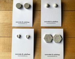 Concrete + Calathea