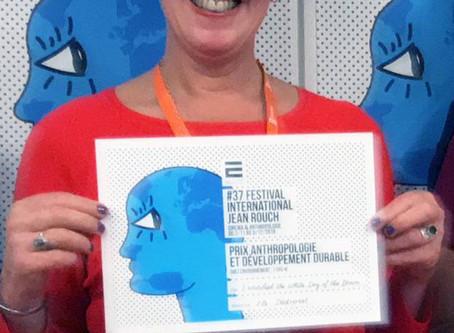 Els Dietvorst awarded at Jean Rouch International Film Festival 2018