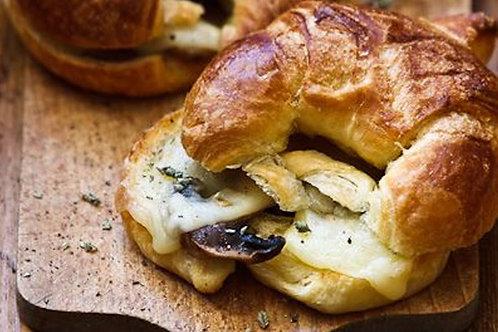 Mushroom Croissant