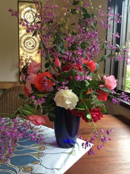 Flores del jardin