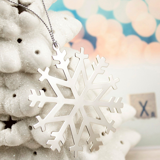 Christmas Snowflakes Ornaments