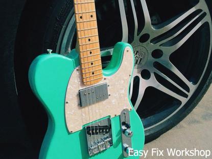 Fender Telecaster Surf Green