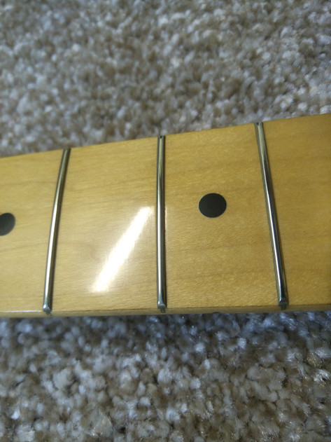 Fender ST-72 - Шлифовка ладов.jpg