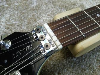 Yamaha SG200 - Изготовление костяного по