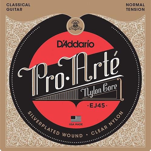 D'Addario Pro Arte EJ45 Clear Nylon