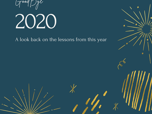 My 2020 In Review: Life Lessons