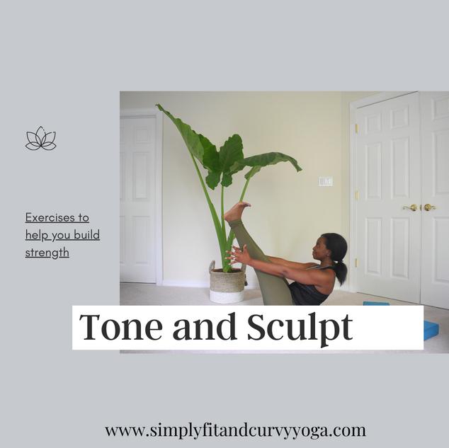 Tone and Sculpt