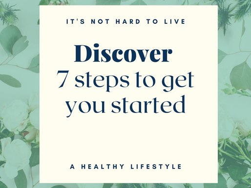 Start living a healthy lifestyle with these 6 simple steps