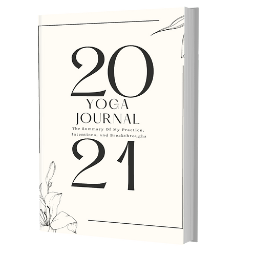 90-Day Yoga Journal