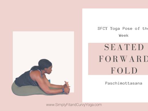 SFCY 1-Minute Yoga Pose Hold: Paschimottanasana or Seated Forward Fold
