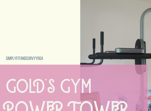 My Gold's Gym XR 10.9 Power Tower Review