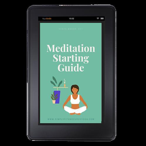 Meditation Starting Guide