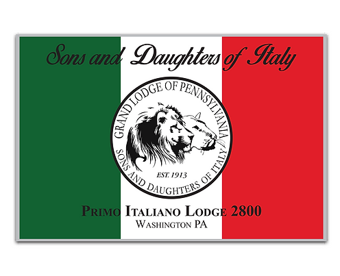 Sons & Daughters of Italy Flag