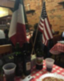 Flags at Members meeting