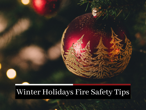 Winter Holidays Fire Safety Tips