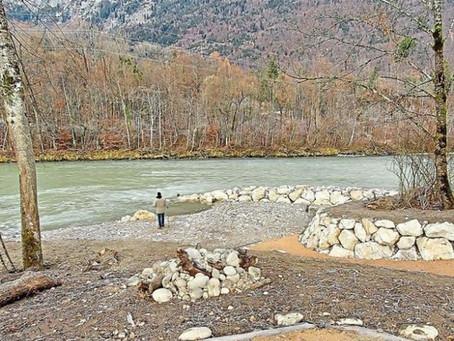 Neue Ufer an Saalach und Seebach