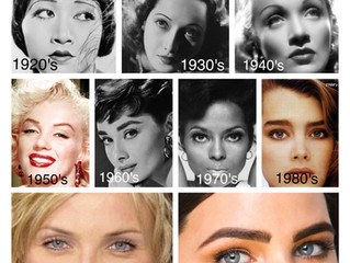 History of Brow Shapes Through the Decades by Tamara D Ferrigno
