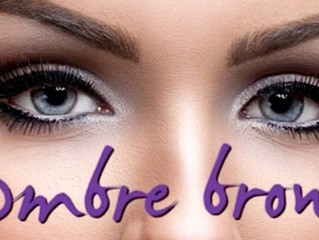 Ombré hair, Ombré nails and now Ombré brows?   By Tamara D. Ferrigno
