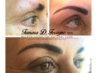 I tried permanent makeup!