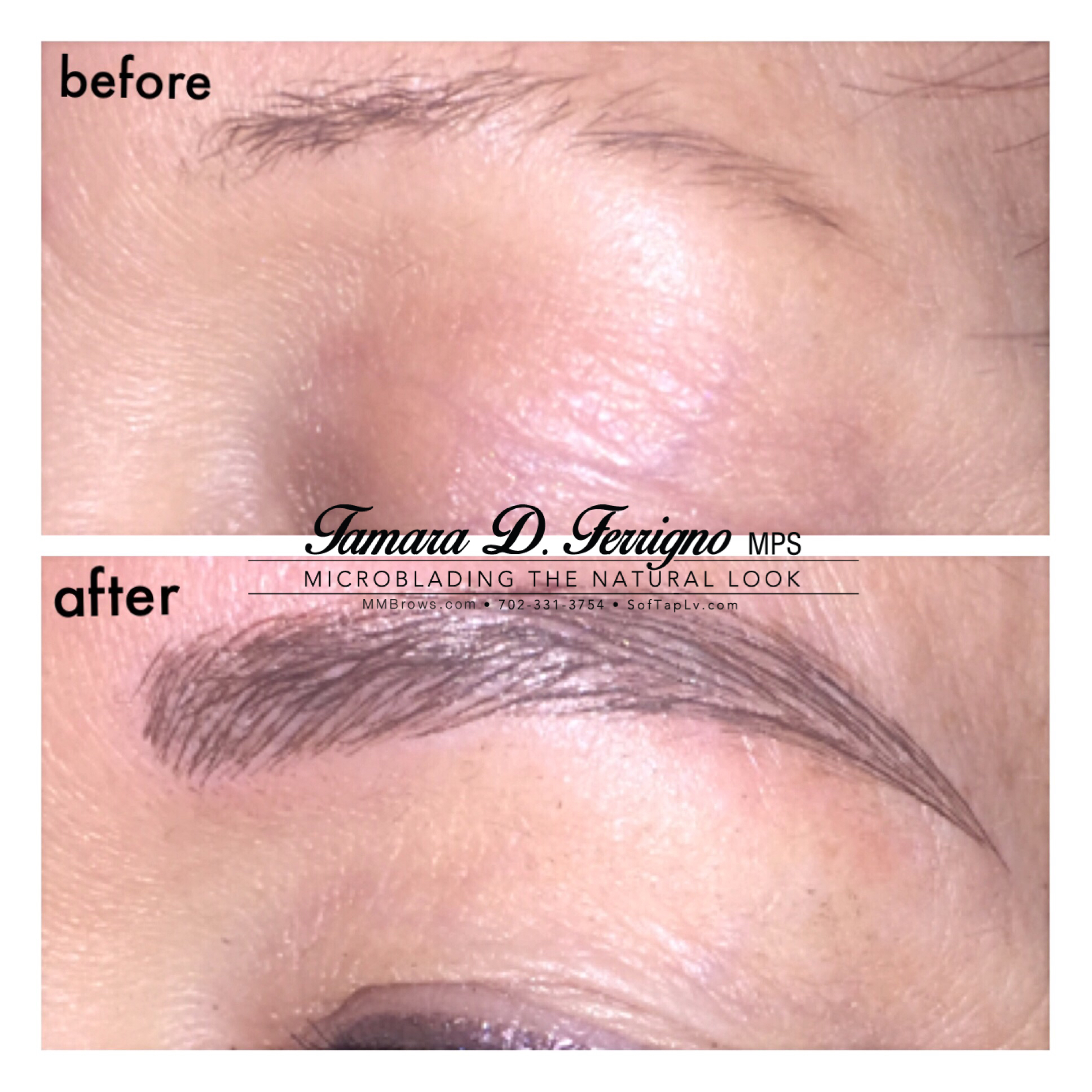 Perfect Eyebrow Mm Browspermanent Makeup Microblading 3d Brows