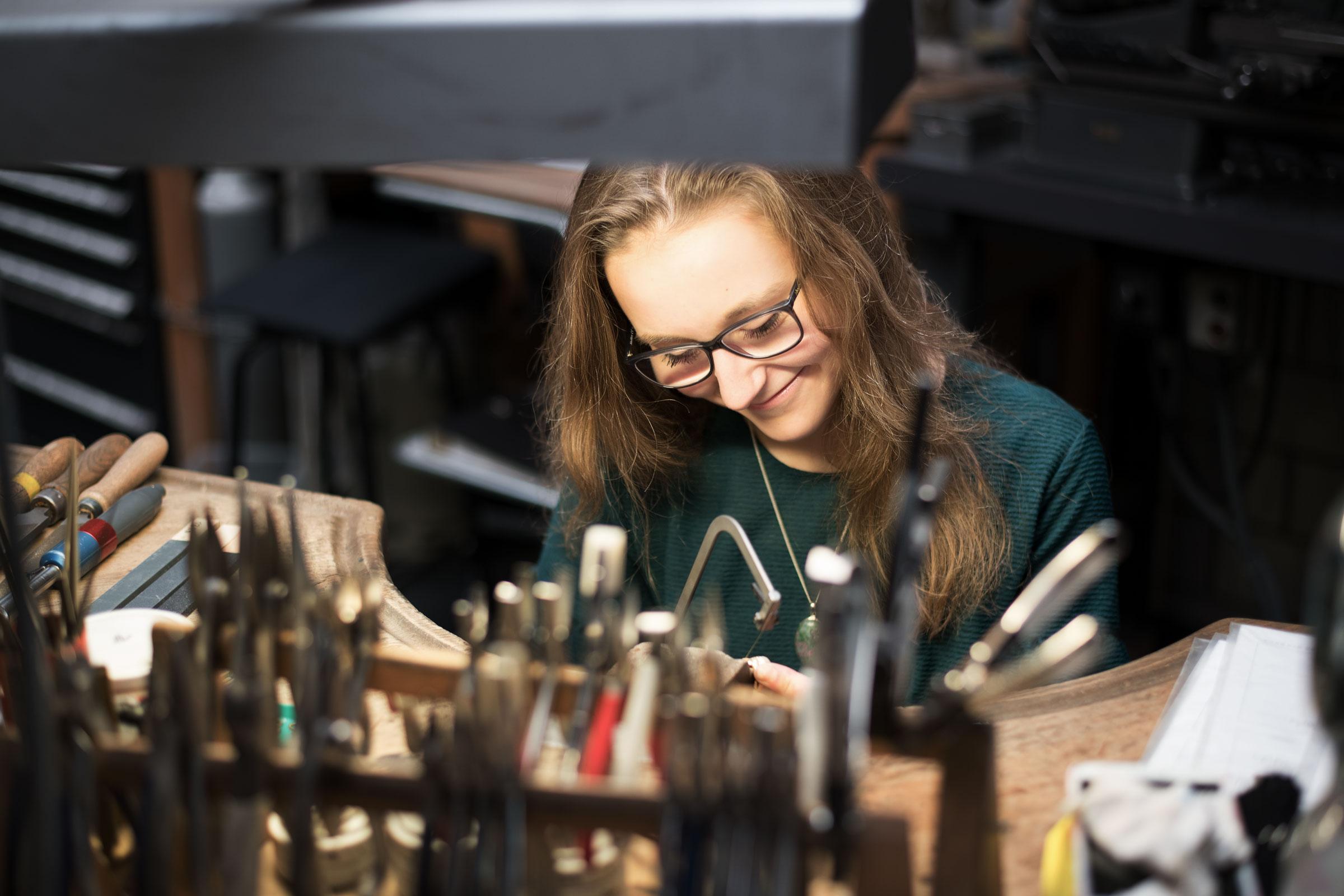 Auszubildende Tania Hubschmied