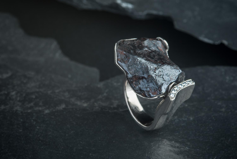 Ring - Meteorit