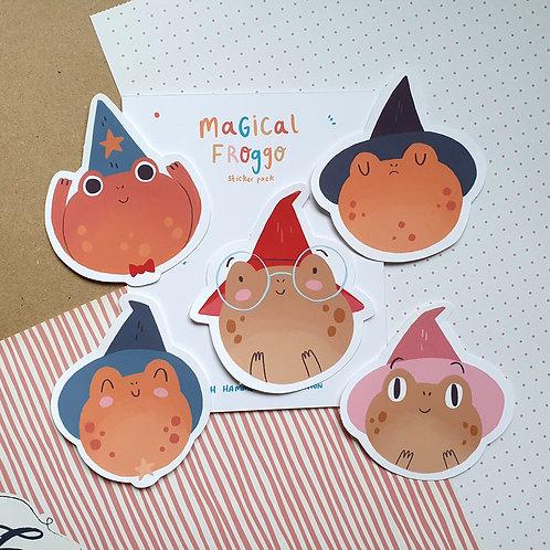 Magical Froggo Sticker Pack