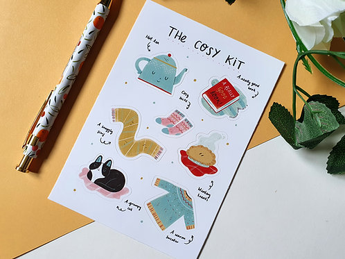 The Cosy Kit Sticker Sheet