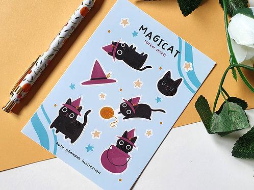 Magicat Sticker Sheet