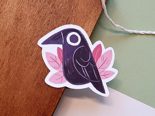 Little Raven Sticker