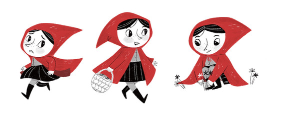 Little Red character design