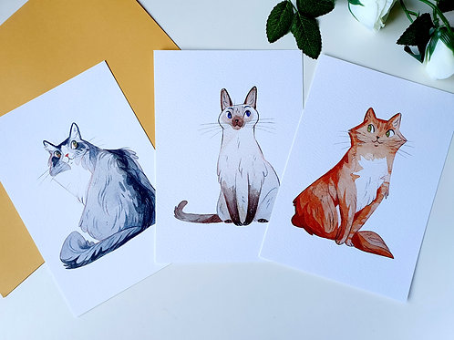 Cats Protection Art Prints