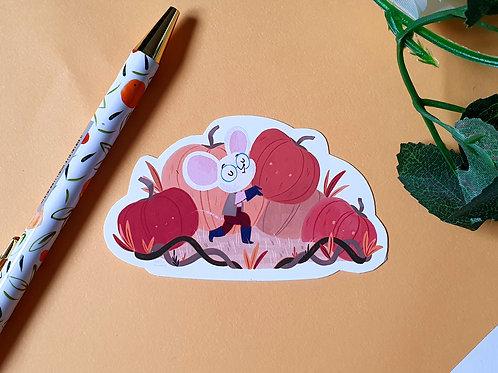 Pumpkin Collector Sticker