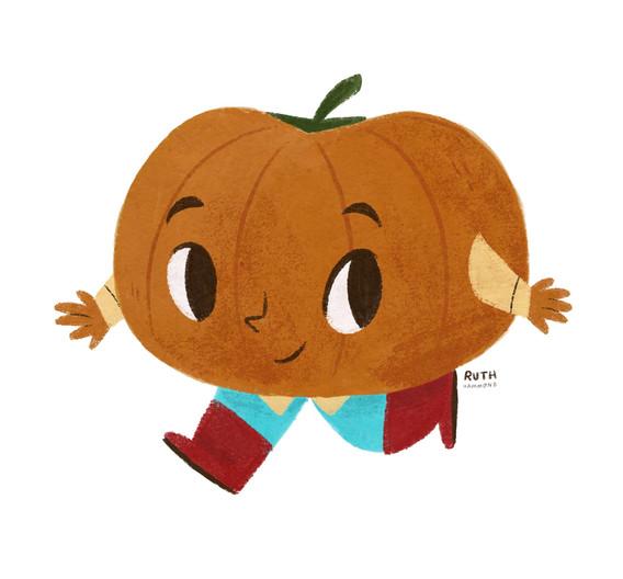 Pumpkin Character