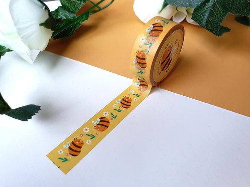 Bumbling Bee Washi Tape