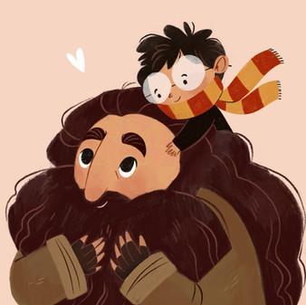 Hagrid & Harry