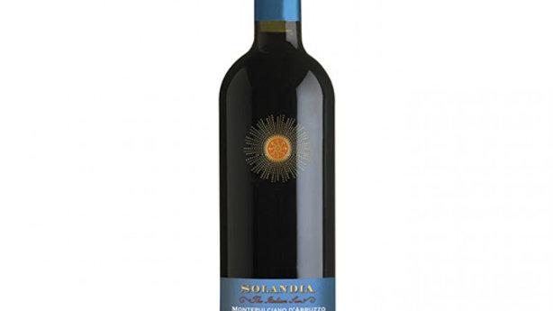 Red vine Montepulciano d'Abruzzo Solandia – Italia