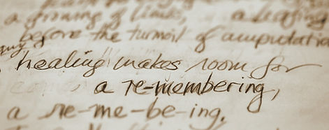 Healing Remembering Journal Excerpt A Gift of Madness