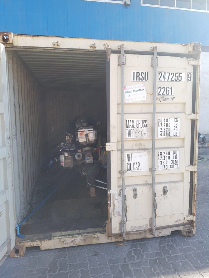 MOTORCYCLE SHIPMENT FROM ASIA TO AFRICA (Iran to Kenya)
