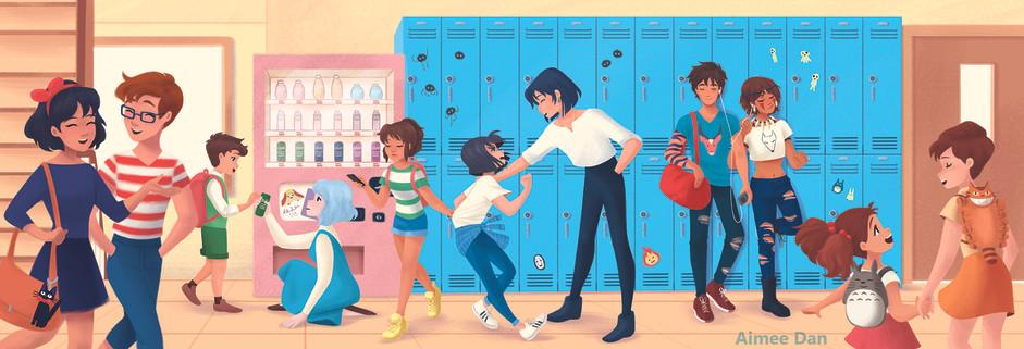 Ghibli Highschool
