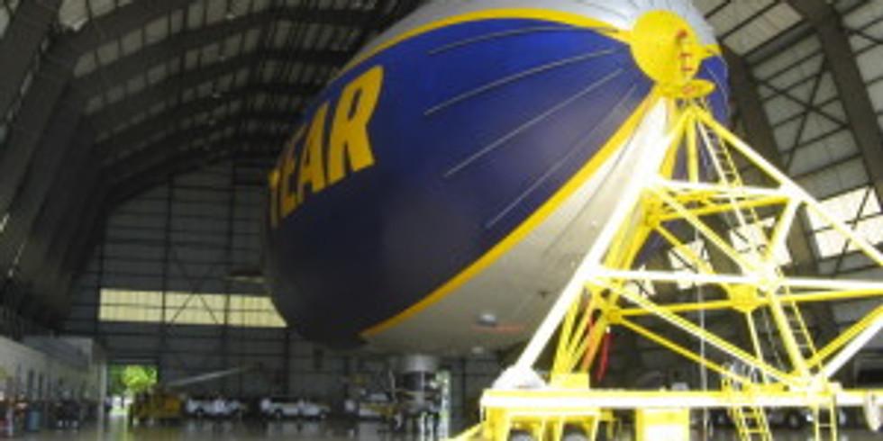 9:00 AM Tour the Goodyear Blimp Hangar