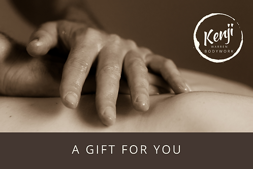 $80 Gift Voucher - Craniosacral Therapy